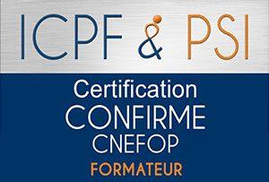 """Certifié ICPF_PSI """"Formateur Confirmé"""""""